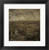 Paris Skyline IV Framed Print