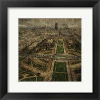 Paris Skyline V Framed Print