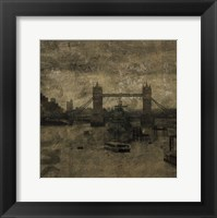 Tower Bridge I Framed Print