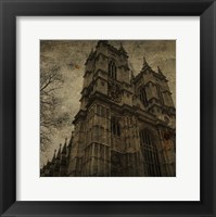 West Minster Abbey Framed Print