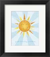 Sunshine II Framed Print