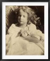Framed Little Girl Playing