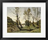 Framed Aumance Valley, 1875
