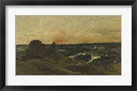 Framed Chateau-Gaillard, Les Andelys (Eure), 1877