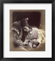Framed Parting Of Lancelot And Queen Guenievre,  1874-1875