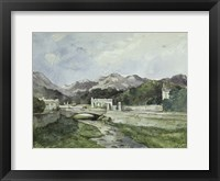 Framed View of Menton