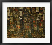Framed Waldandacht (Shrines In The Wood), 1915