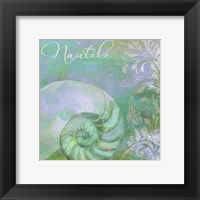 Painted Sea I Framed Print
