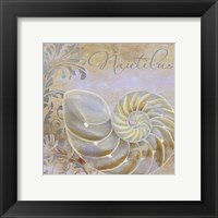 Painted Sea III Framed Print