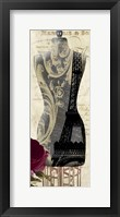 Paris Seamstress II Framed Print