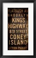 Brooklyn 1 Framed Print