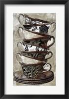 Afternoon Tea I Framed Print