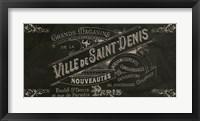 Signes Francais V Framed Print