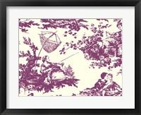 Framed Toile Fabrics VII
