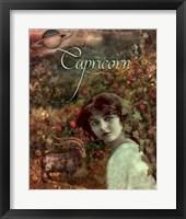 Art Nouveau Zodiac Capricorn Framed Print