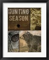 Hunting Season IV Framed Print