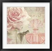 Parfum de Roses I Framed Print