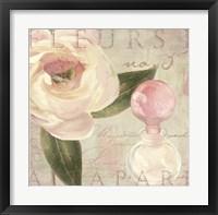 Framed Parfum de Roses II