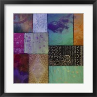 Afrikan Batik I Framed Print