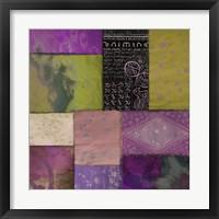Afrikan Batik II Framed Print