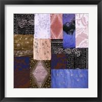 Afrikan Batik IV Framed Print