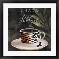 Afrikan Coffee IV Framed Print