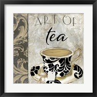 Framed Art of Tea I