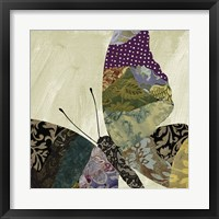 Butterfly Brocade I Framed Print