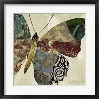 Butterfly Brocade II Framed Print