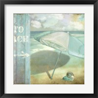 By the Sea II Framed Print