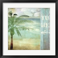 By the Sea III Framed Print