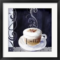 Cafe Blue II Framed Print