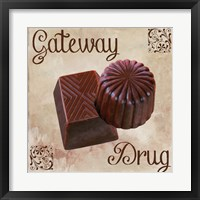 Chocolate Therapy II Framed Print