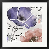 Fleurs de France III Framed Print