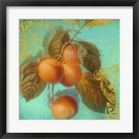 Glowing Fruits I Framed Print