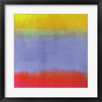 Gradients III Framed Print