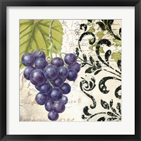 Les Fruits Jardin II Framed Print