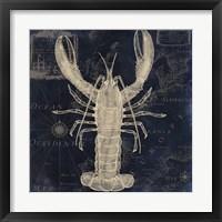 Maritime Blues II Framed Print