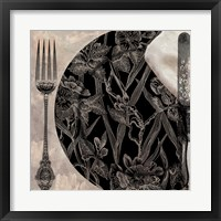 Victorian Table II Framed Print