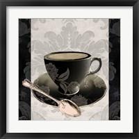 Vintage Cafe III Framed Print