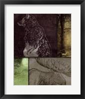 On the Hunt IV Framed Print