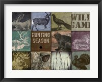 Cabela hunting season 12 patch Framed Print