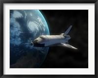 Framed Space Shuttle