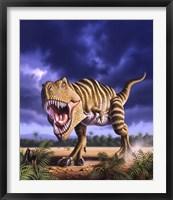 Framed Tyrannosaurus Rex