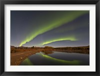 Framed Aurora Borealis, Canada