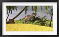 Framed Ceratosaurus Hunting