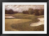 Sand Trap II Framed Print