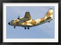 Framed Alenia C-27J Spartan of the Chadian Air Force