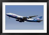 Framed Boeing 747-400?