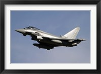 Framed Eurofighter Typhoon 2000